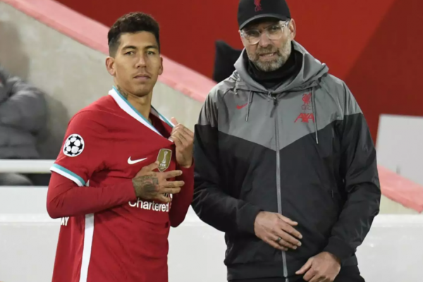 Liverpool will not renew Firmino's contract