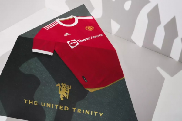 Manchester United's shirts 2021/22