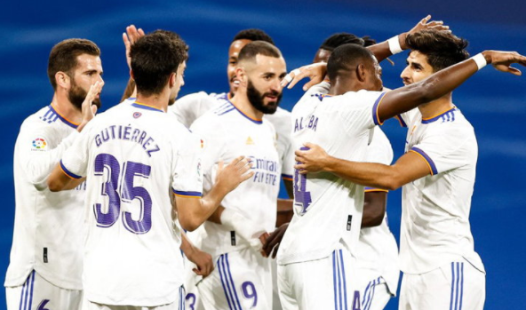 Real Madrid beat Mallorca 6-1, from Marco Asensio